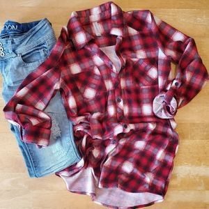 WAREHOUSE ONE LONG FLANNEL